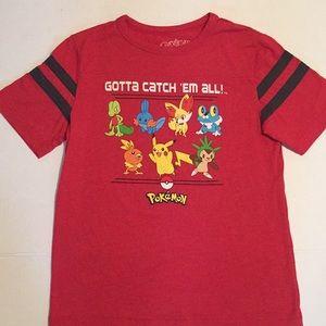 Pokémon Red Boys Tee- Size L(14/16)